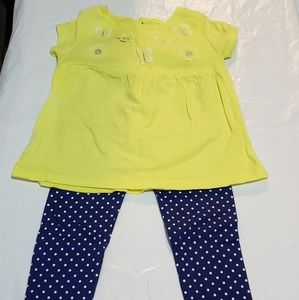 Carter's Baby Girl 2pc Set Size 24mo